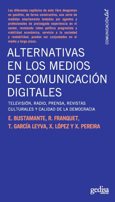 Alternativas en los medios de comunicación digitales